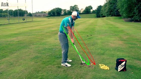 Khắc phục cú shank golf