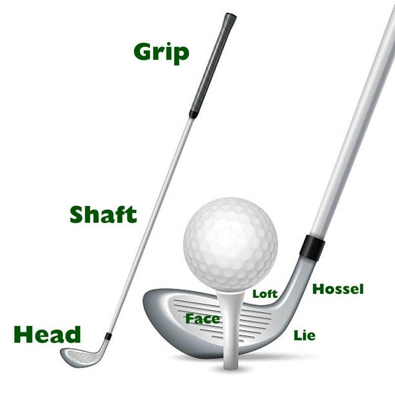 Chi tiết về cấu tạo gậy golf có thể bạn chưa biết - Cần lưu ý điều gì?