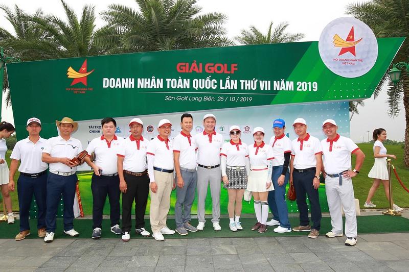 Giải golf doanh nhân trẻ Việt Nam 2018, 2019 - Nơi kết nối những golfer doanh nhân tài ba
