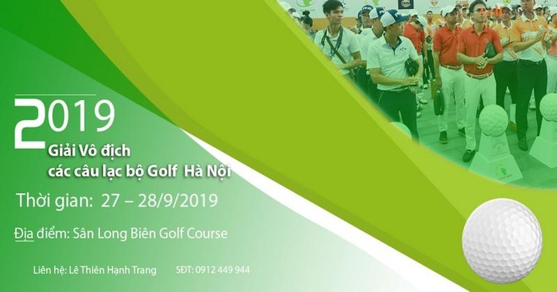 Giải golf các câu lạc bộ Hà Nội 2019 khởi tranh đầy kịch tính với hơn 500 golfers