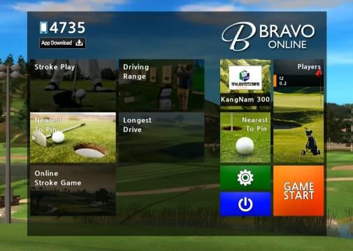hệ thống 3d Bravo golf