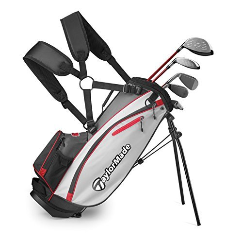 Bộ gậy golf trẻ em TaylorMade Complete Youth Set W Bag Phenom K50 8Pc/RH S (Unisex ...