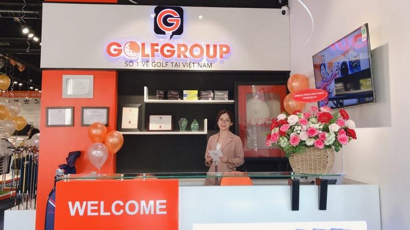 Địa chỉ bán gậy golf của Golfgroup tại TP HCM