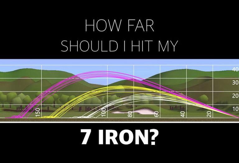 Khoảng cách tối ưu của gậy số 7 đánh xa bao nhiêu? Bật mí top 3 gậy sắt số 7 tốt nhất?