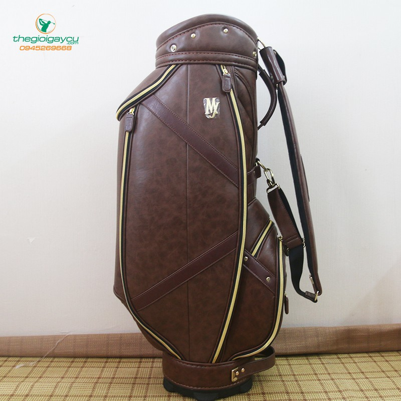 Túi gậy golf Majesty da nâu