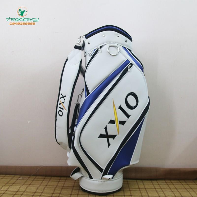 Túi gậy golf XXIO da PU trắng