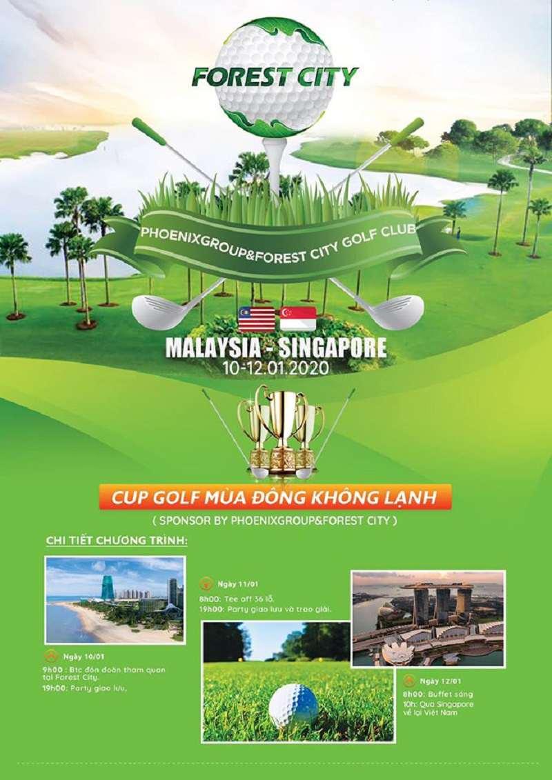 """Giải giao lưu ra mắt """"Phoenix Group & Forest City Golf Club"""""""