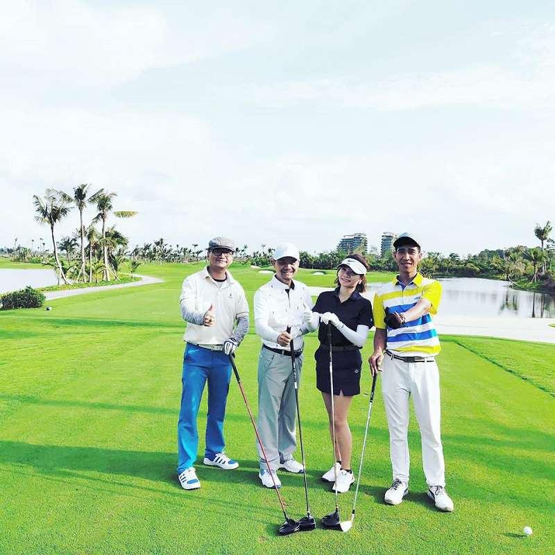 Khai mạc giải Golf Mùa Đông Không Lạnh