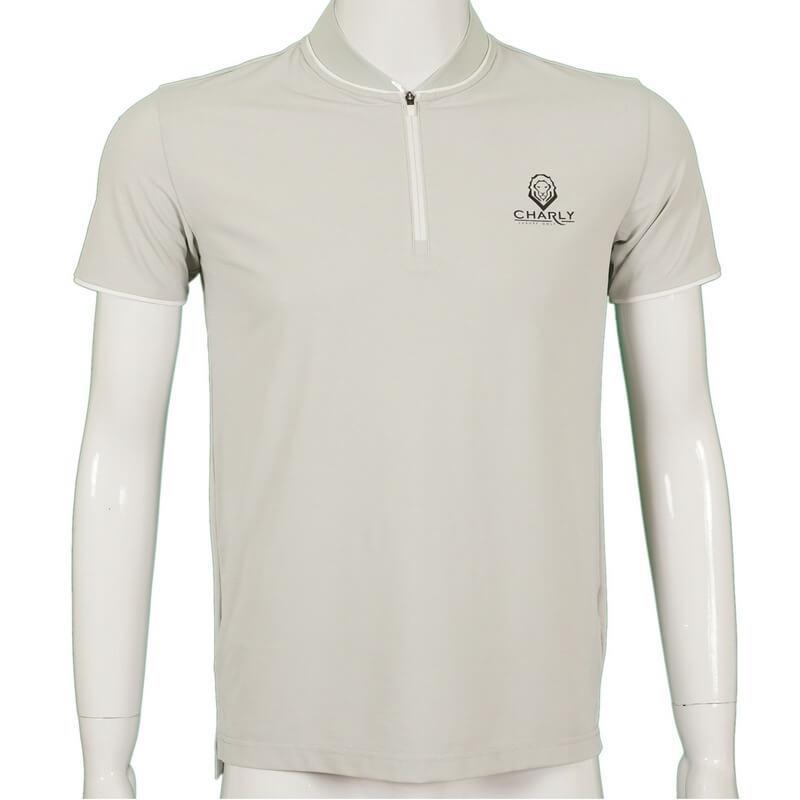 Áo golf nam màu be