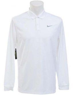 Nike Dry Victory Polo Long Sleeve màu trắng