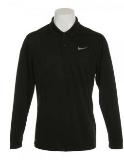 Nike Dry Victory Polo Long Sleeve màu đen