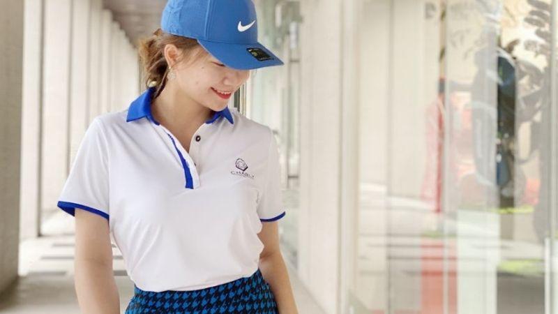 Chiếc áo chắc chắn không thể thiếu trong tủ đồ của các chị em chơi golf