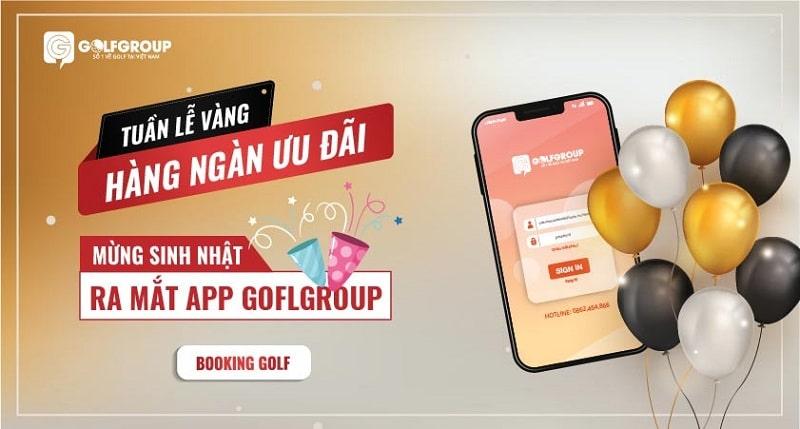 App Golfgroup chính thức ra mắt trong thời gian tới