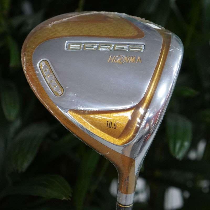 Thiết kế đầu gậy golf Driver Honma 4 sao với những chi tiết mạ vàng tinh tế