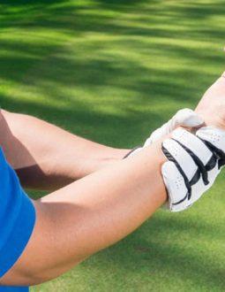 Các chấn thương thường gặp khi swing gậy sắt