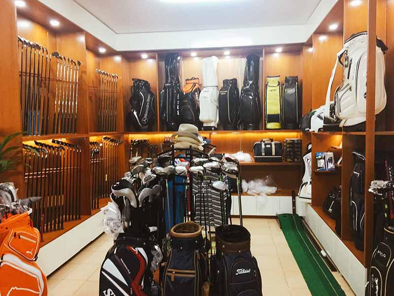 Các cửa hàng golf tại Hà Nội và TPHCM cung cấp nhiều sản phẩm đa dạng