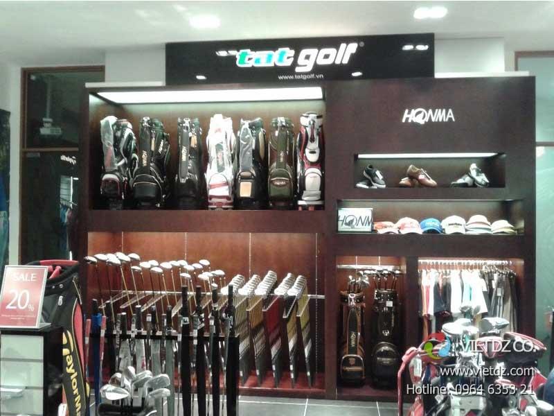 TAT golf có xuất phát từ một cửa hàng chuyên cung cấp các dụng cụ thể thao.