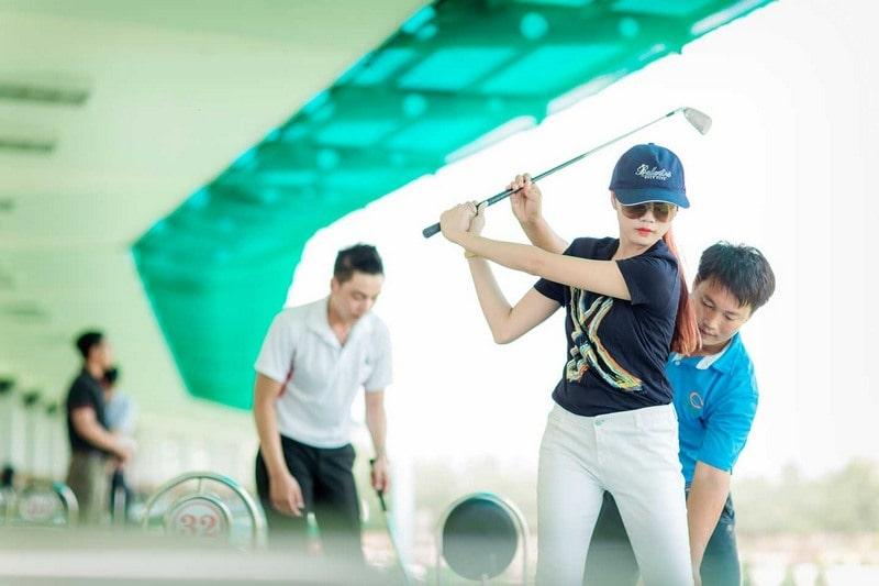 Sân golf đạt tiêu chuẩn đáp ứng các giải đấu được tổ chức tại sân golf