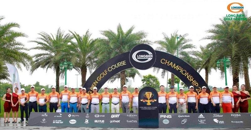 Các giải đấu được tổ chức tại sân golf long biên