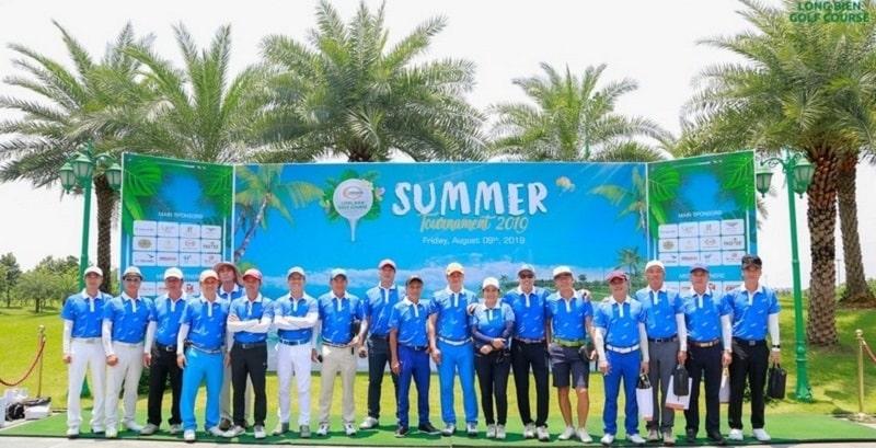 Giải đấu được tổ chức tại sân golf - Long BiênGolf CB- CNV