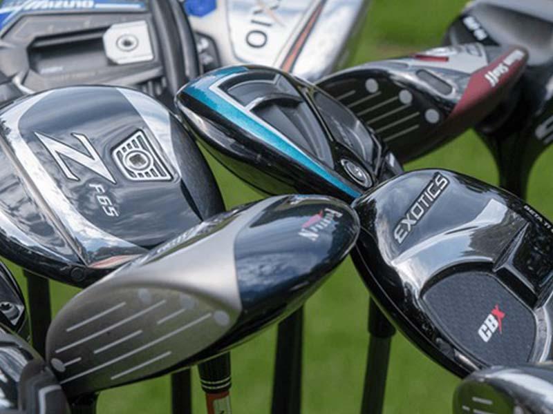 Các loại gậy đánh golf và thiết kế của các mẫu gậy gỗ golf hiện đại