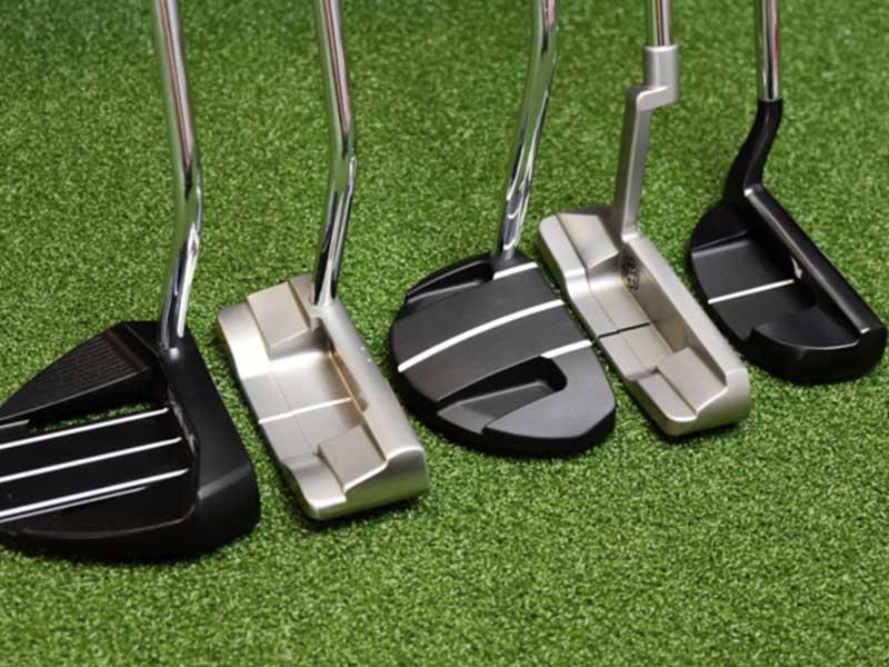 Các loại gậy đánh golf và gậy Putter