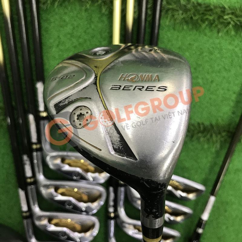 Gậy golf cũ Honma Beres S02 cho hiệu suất cao lên tới 98% như dùng gậy mới