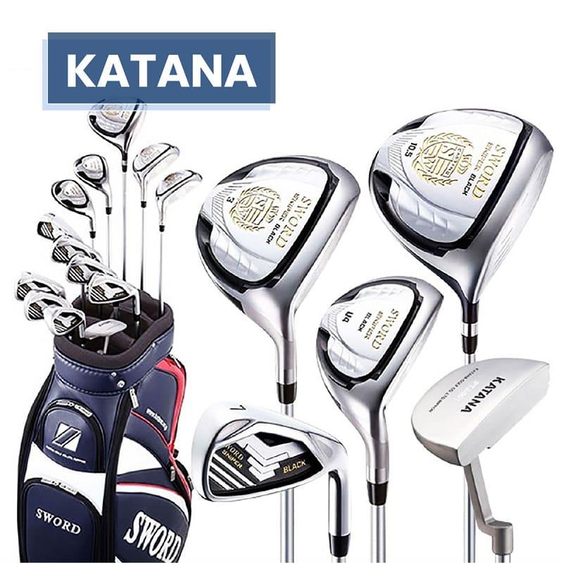 Katana - nhãn hiệu nổi tiếng tại Nhật và nhiều nước trên thế giới