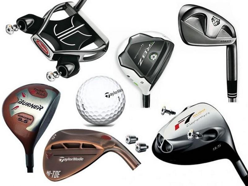 Taylormade thường cung cấp các mẫu gậy golf năng động hàng đầu thế giới