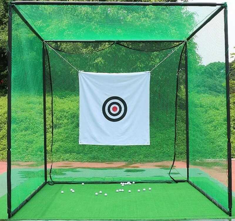 Lồng tập golf tại nhà cực kỳ hữu ích trong mùa Covid