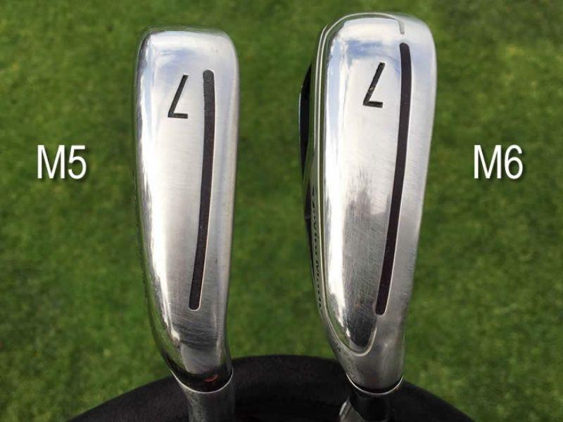 Gậy số 7 Taylormade M5 và M6 được đánh giá là những chiếc gậy có hiệu suất đánh bóng rất tốt