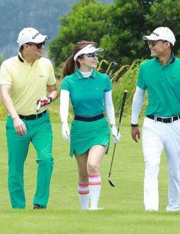 cách mix thời trang chơi golf