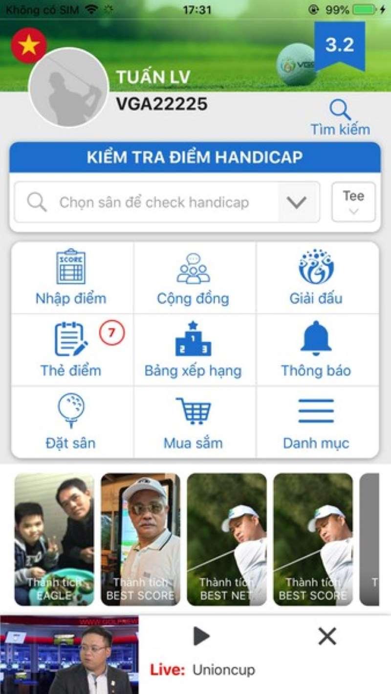Ứng dụng này đã được cấp chứng chỉ trên điện thoại di động IOS, Android và WAP