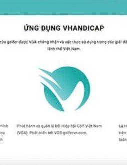Ứng dụng hỗ trợ việc tính điểm golf VHandicap