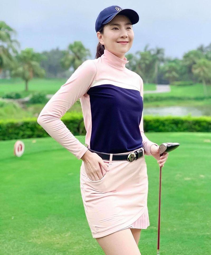 Chân váy golf giả quần