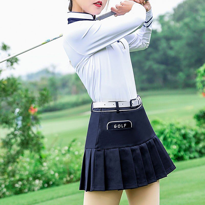 Chân váy golf chữa A là sự lựa chọn của nhiều nữ golfer