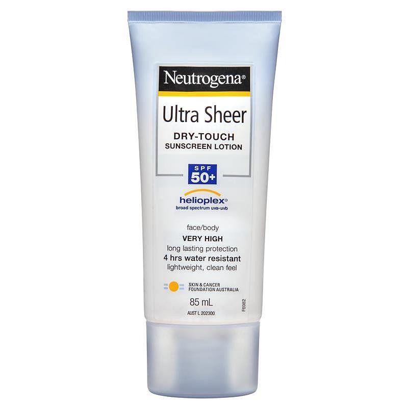Kem chống nắng Neutrogena Ultra Sheer Body Lotion SPF 50+
