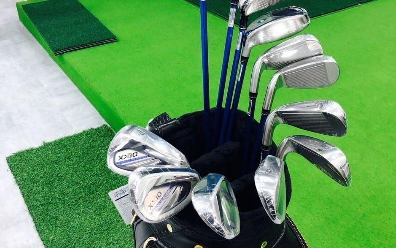 Hình ảnh đập hộp golf MP1100