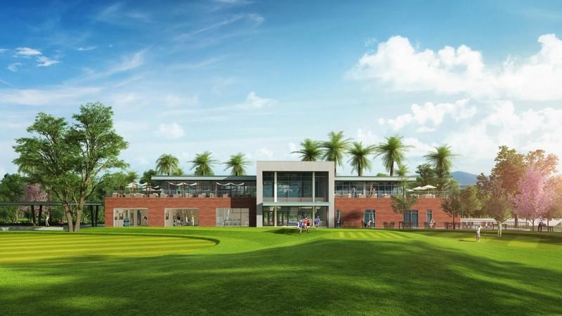 Sân golf Ecopark cung cấp hệ thống dịch vụ tiện ích