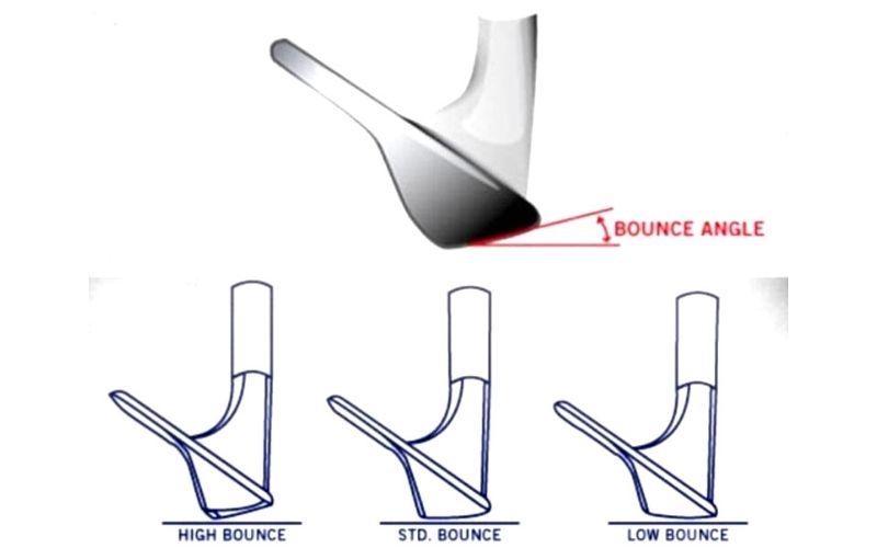 Cách xác định độ bounce của gậy golf