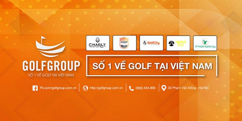 Đơn vị sở hữu nhiều hệ thống thương hiệu liên kết nhất trong làng golf