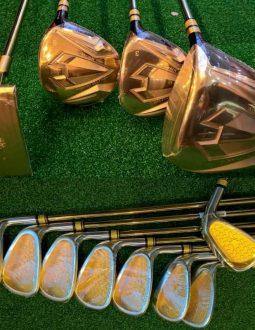 Bộ gậy golf Grand Prix 1 Minute Gold