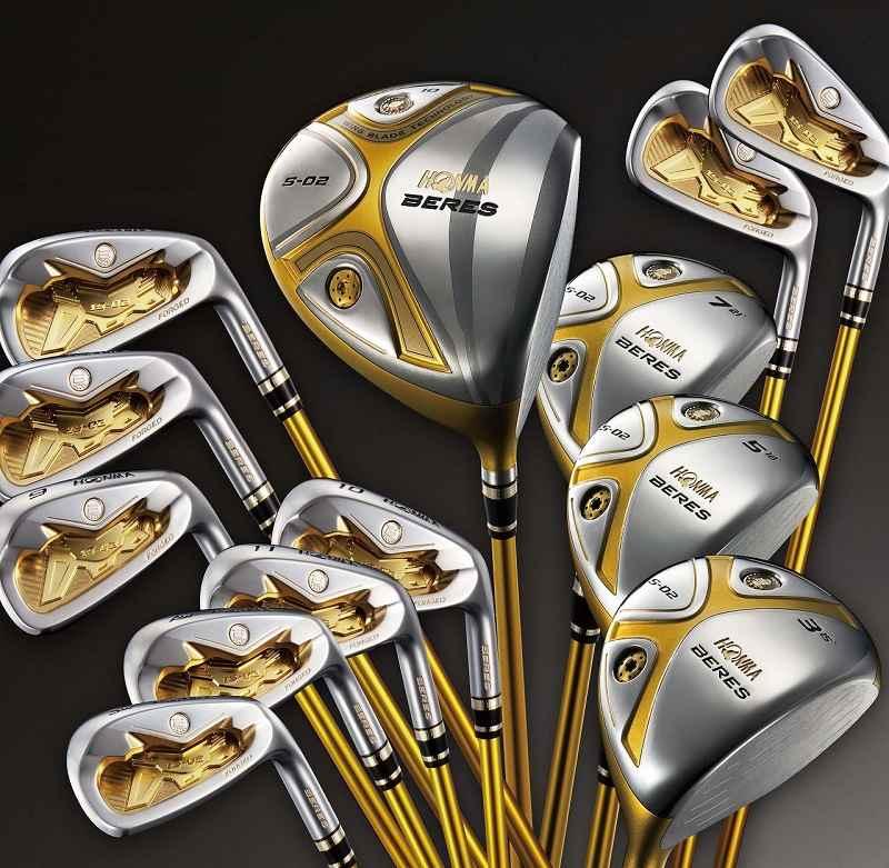 Honma Beres S02 2 là bộ gậy golf cho người mới giúp giảm Slice tốt nhất