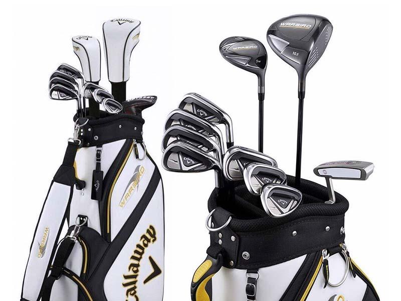 Callaway warbird là bộ gậy golf giá rẻ có thông số độ loft tương đối giúp quỹ đạo bóng tốt