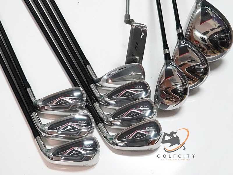 Mizuno RV7 là bộ gậy golf giá rẻ được nhiều tín đồ săn tìm