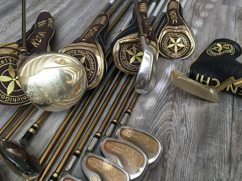 Bộ gậy golf Kenichi với thiết kế cực kỳ tỉ mỉ, chất liệu quý hiếm