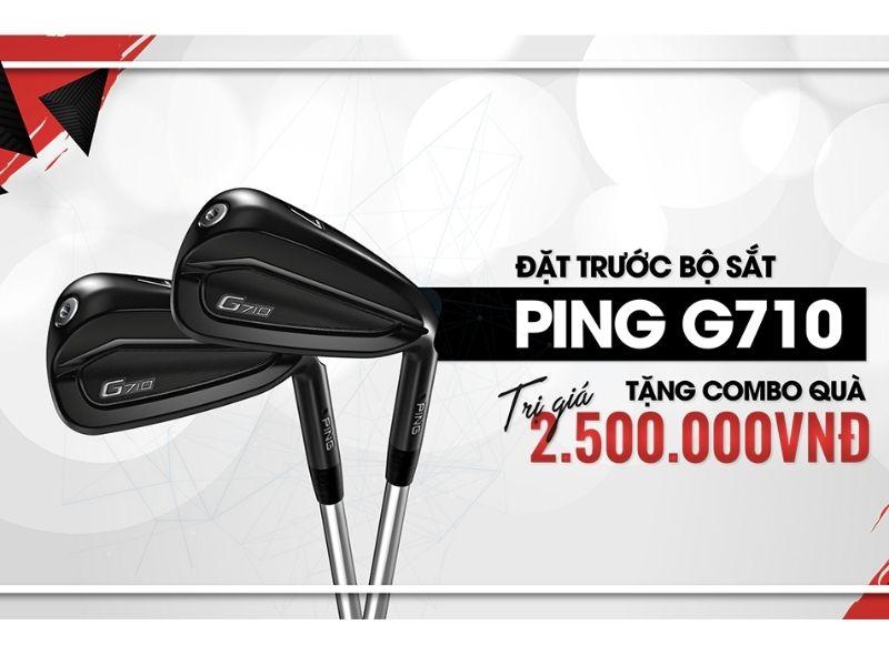 gậy golf ping g710 iron