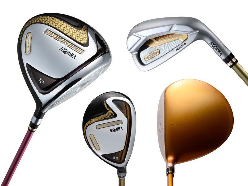 Các sản phẩm gậy golf của thương hiệu Honma đều có thiết kế sang trọng