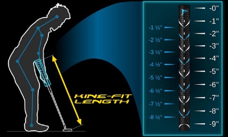 Lựa chọn chiều dài gậy phù hợp sẽ hỗ trợ các golfer đạt thành tích tốt hơn