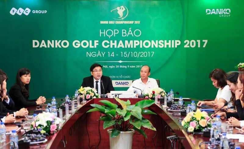 Buổi họp báo giải golf Danko Championship